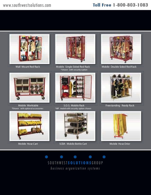 Turnout Gear Storage System Fire Gear Storage