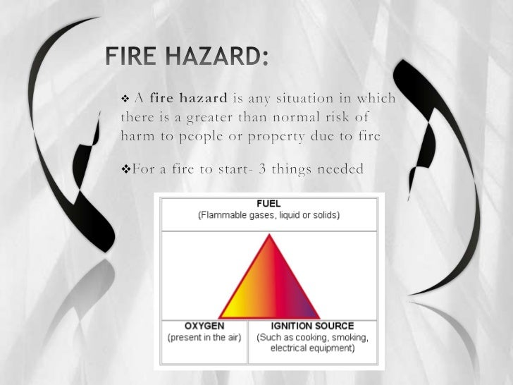Fire Hazards In A Building