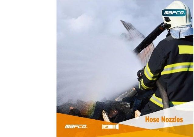 Fire hose nozzles