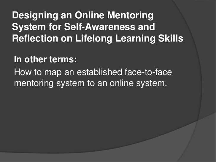 Firehouse introduction: Awareness and Reflection in Personal Learning Environments Slide 2