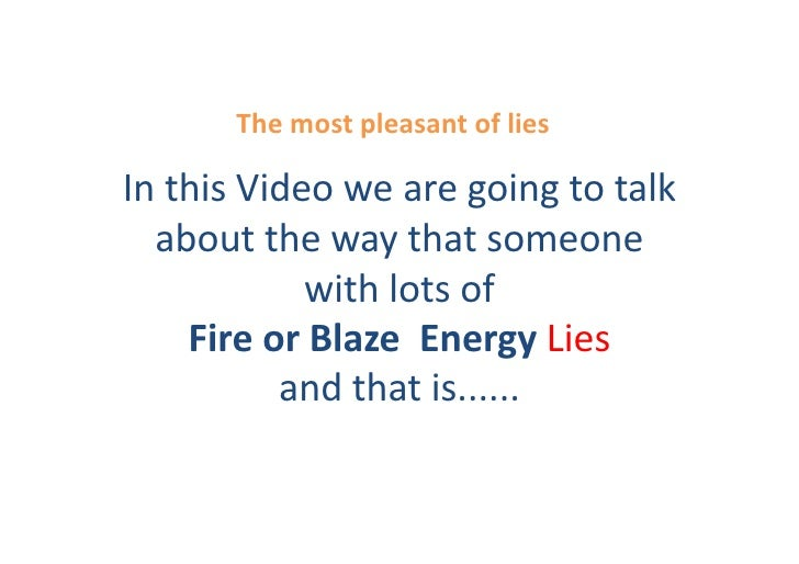 The	   most	   pleasant	   of	   lies	     In	   this	   Video	   we	   are	   going	   to	   talk	      about	   the	   w...