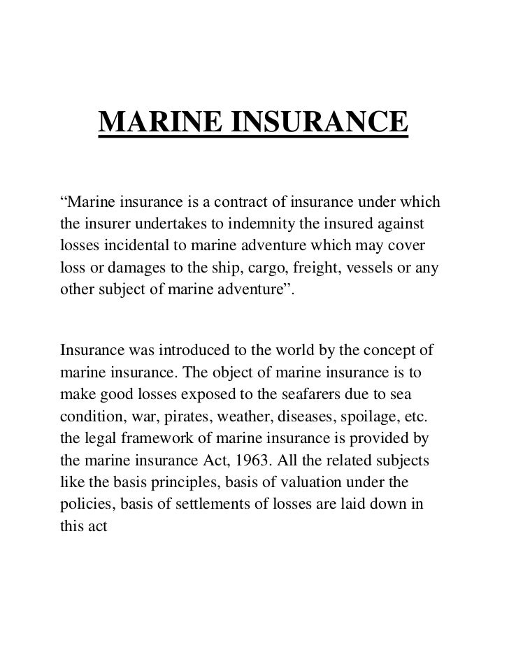 fire insurance aims and objectives pdf