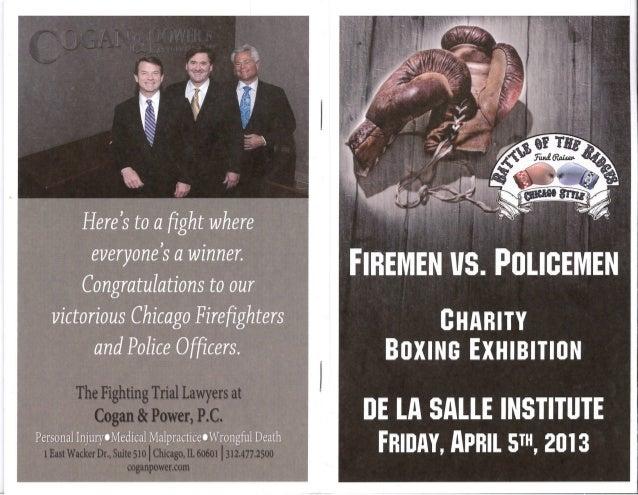 Firemen v. Policemen Advertisement