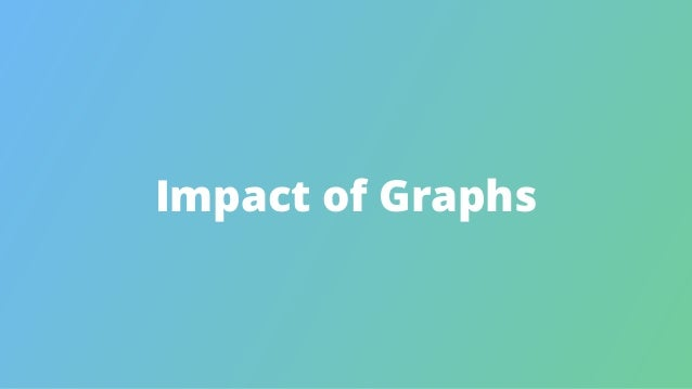 Impact of Graphs