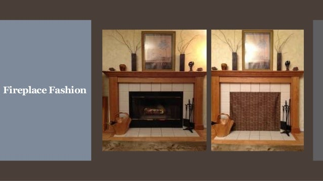 Fireplace Fashion- chimney draft stopper