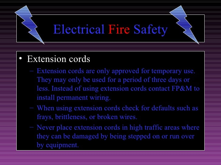Fire Prevention Ppt