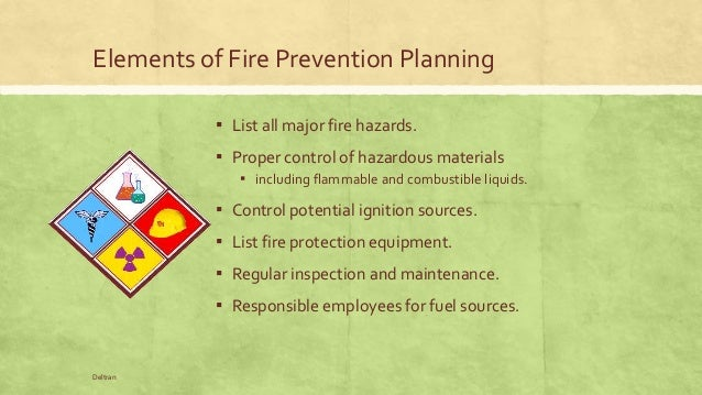 an overview of the fire hazards and combustion Explosion hazard assessment  promote the use of a consistent methodology for evaluation of fire hazards current knowledge of hazards an overview of the.