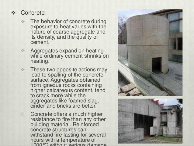 Slag Cement Density : Fire proofing