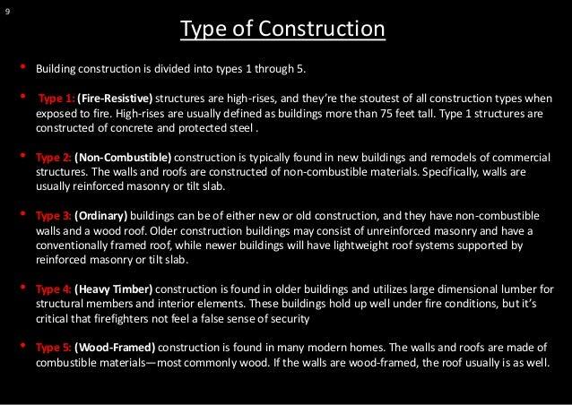 Fire Resistive Building Construction