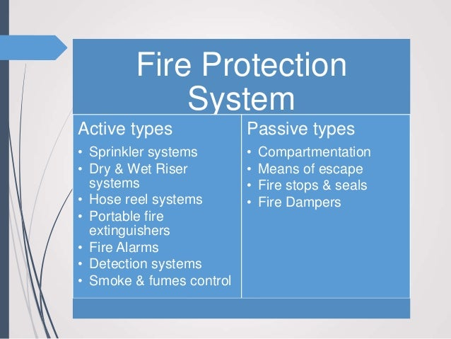 Bs fire protection