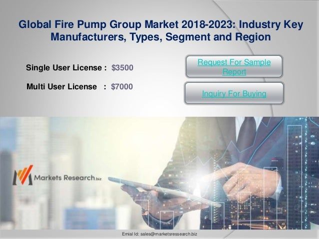 Global Fire Pump Group Market Research Report 2018 Overview