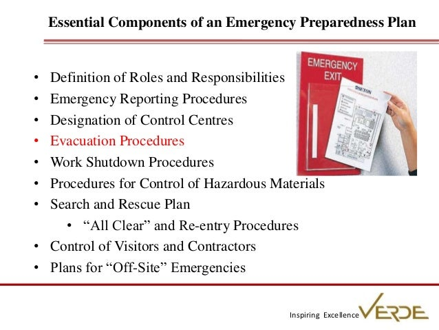 Fire Safety Emergency Preparedness Verde