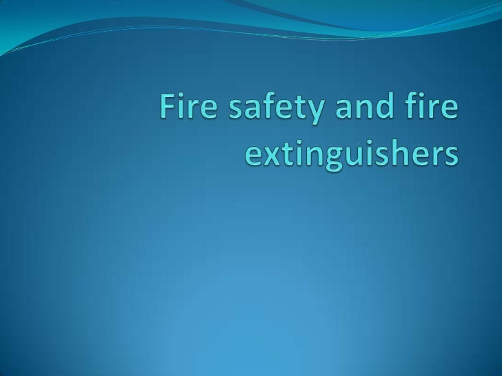 Types of fire The National Fire Protection Association (NFPA)  classifies fires into five general categories.1)Class A fi...