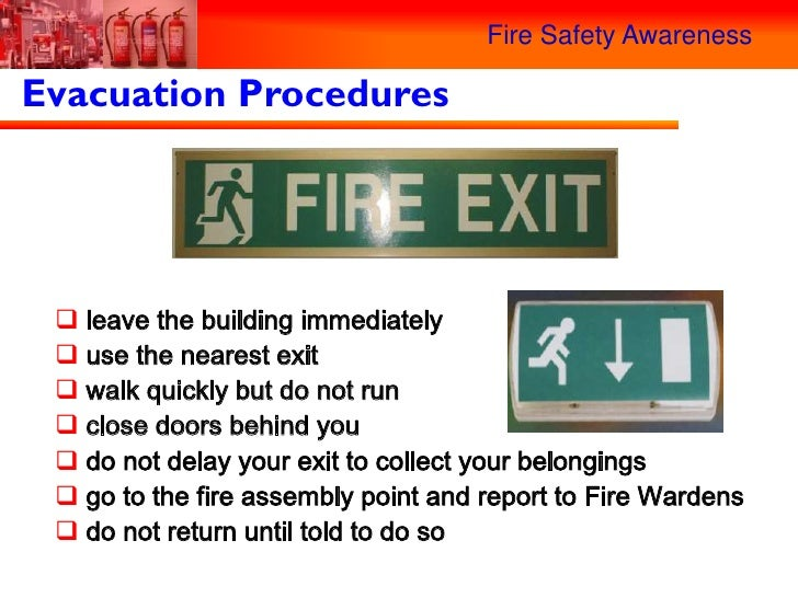 Fire safety awareness for Procedure to build a house