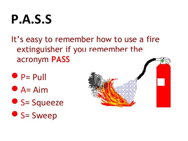 fire safety awareness session white