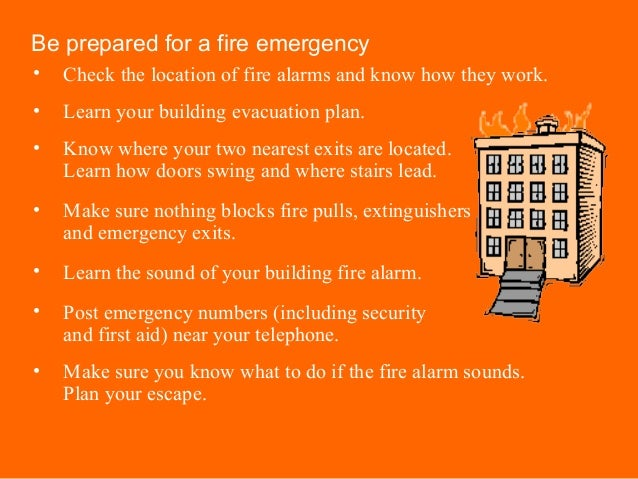 how to make a fire safety plan for vancouver