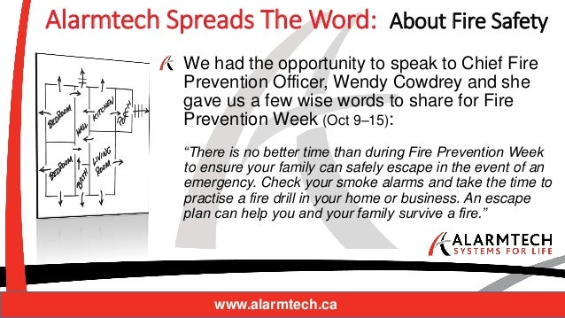 Alarmtech looks back at fire safety month 6 alarmtech spreads the word about fire safety we had the opportunity sciox Images