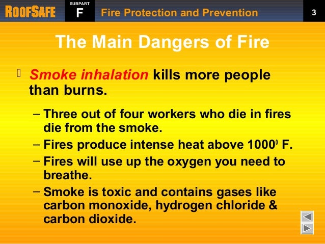 Fire Protection And Prevention Training By Roofsafe