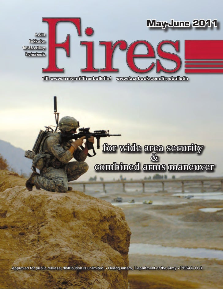 May-June 2011               A Joint          Publication      for U.S. Artillery        Professionals                     ...