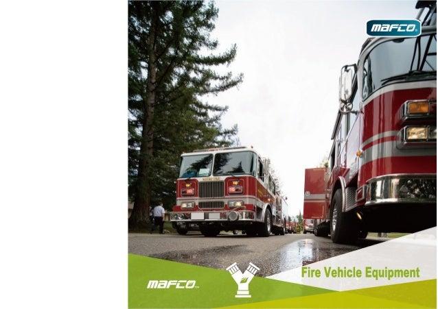 Fire vehicle equipment