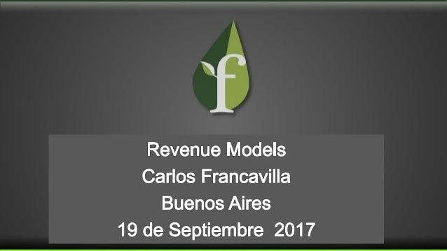 Revenue Streams Fuente única de ingresos Revenue Model Gestión de ingresos Business Model Modelo de Negocio