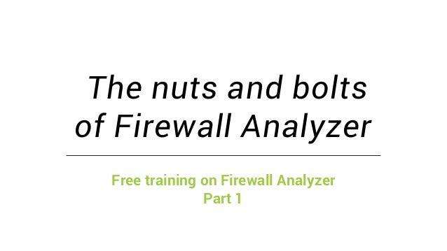 ManageEngine Firewall Analyzer training
