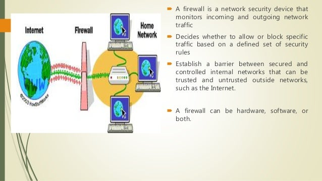 Firewall and vpn