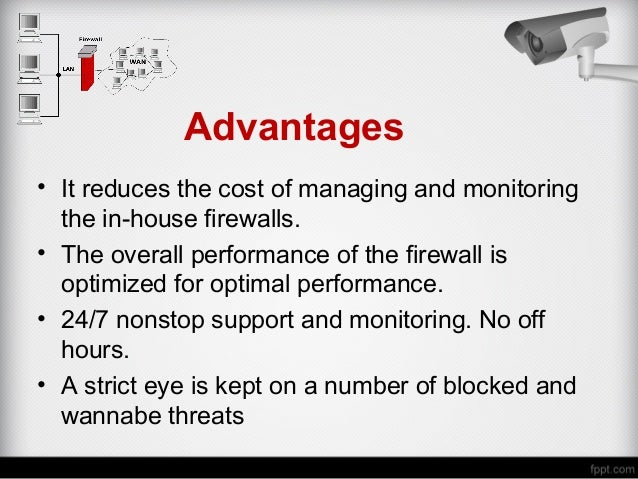 Advantages Of Internet Monitor System : Firewall management what is it