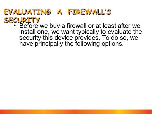 penetration tracking Firewall