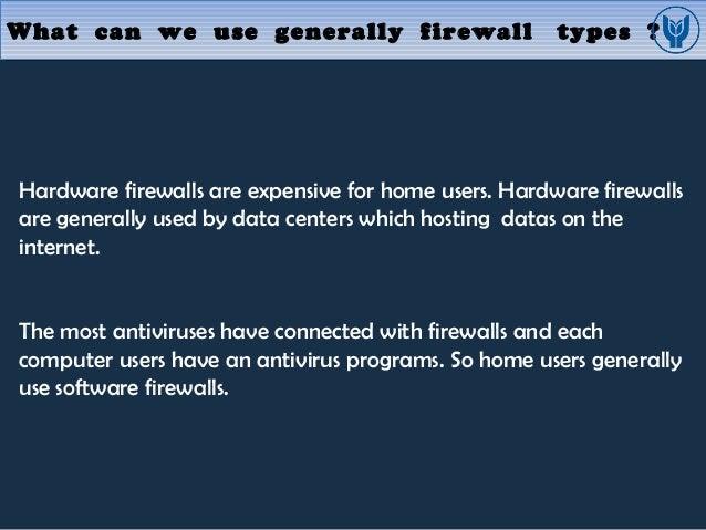 Firewall presentation m  emin özgünsür