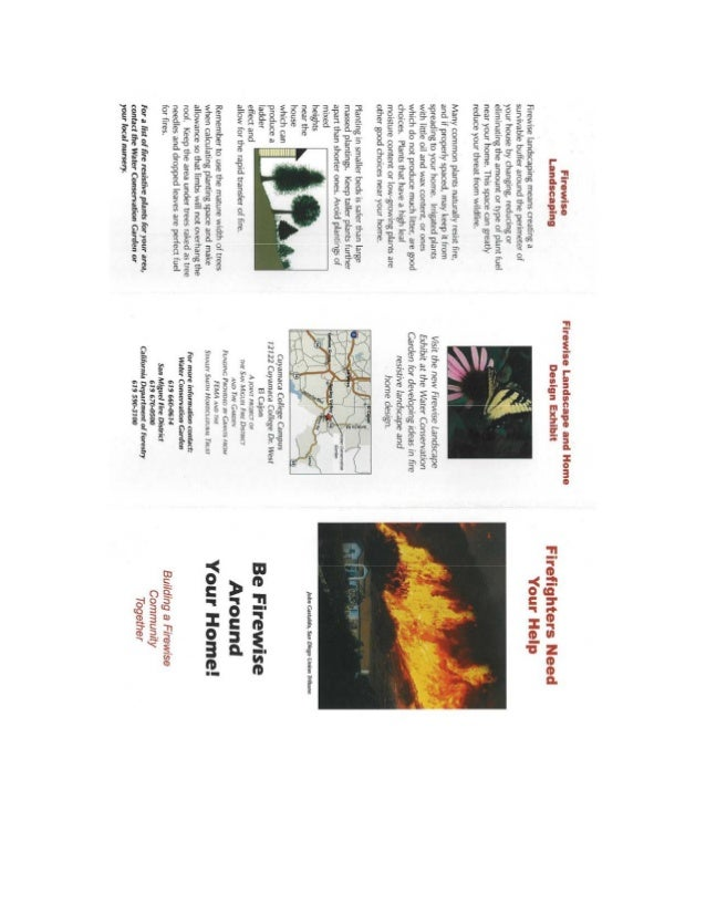Firewise Landscape and Home Design