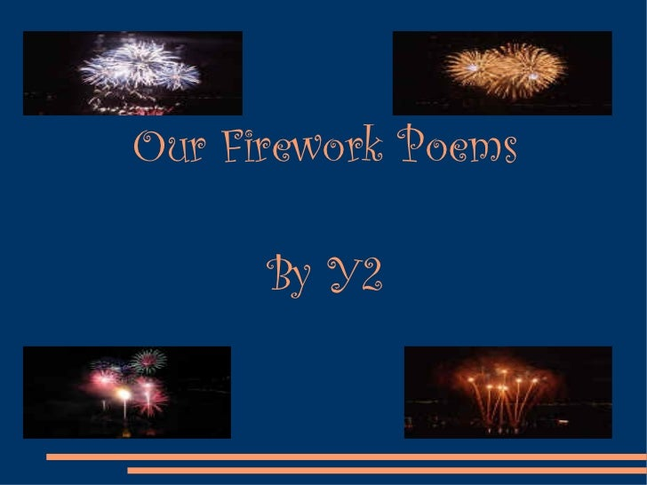Firework Poems 1
