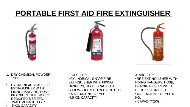 Fire Fighting In Commercial Buildings Services
