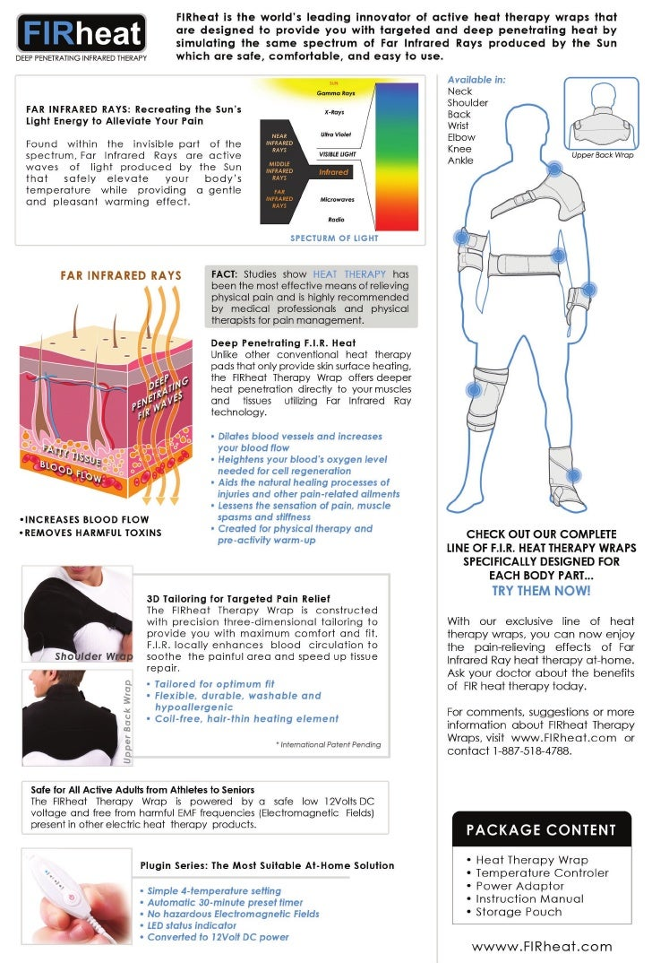 FIRHeat Plugin - Far Infrared Ray Heat Therapy Products