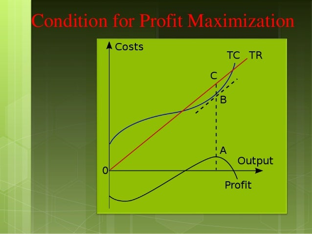criticism of profit maximisation One reason is that profit maximization does not take the concepts of risk and reward into account like shareholder maximization does the goal of profit maximization is, at best, a short-term goal of financial management.