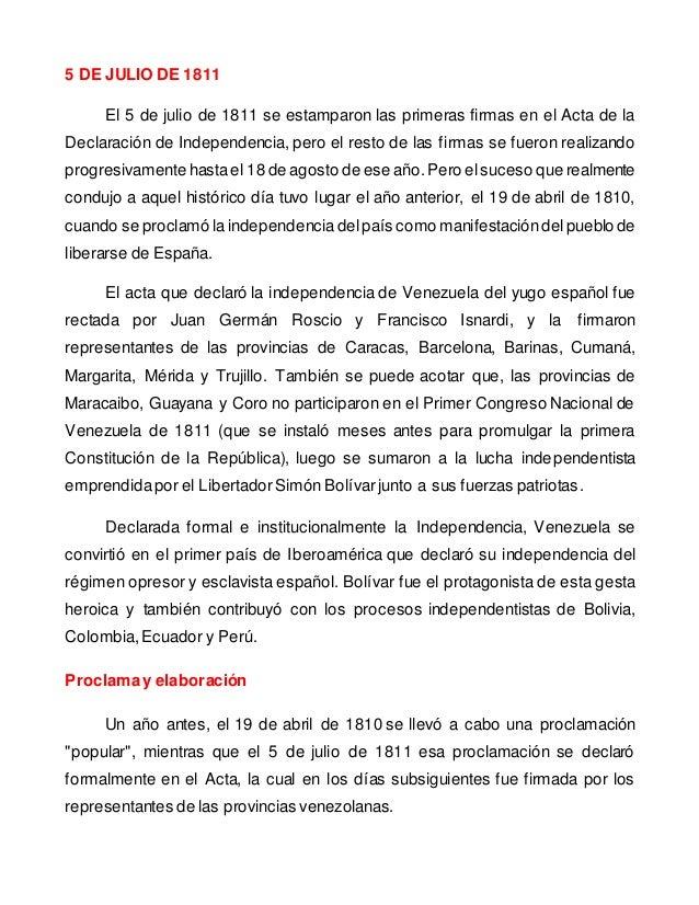 84 La Firma Del Acta De Independencia De Venezuela En El  : 5 de julio de 1811 firma del acta de independencia de venezuela pdf 3 638 from motocyclenews.top size 638 x 826 jpeg 147kB