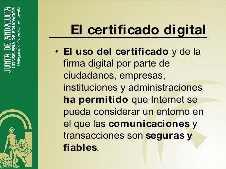 Firma digital for Sellar paro por internet andalucia certificado digital