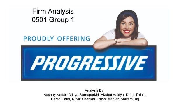 Progressive Insurance Claims Phone Number >> Progressive Insurance Firm Analysis