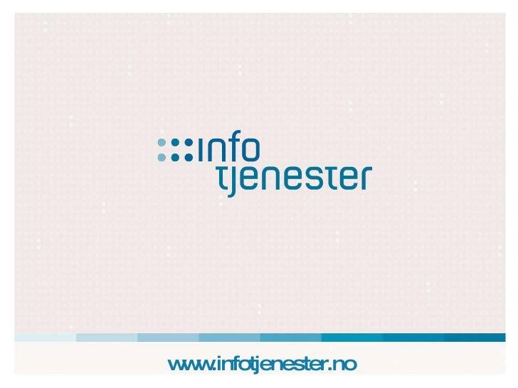 www.infotjenester.no