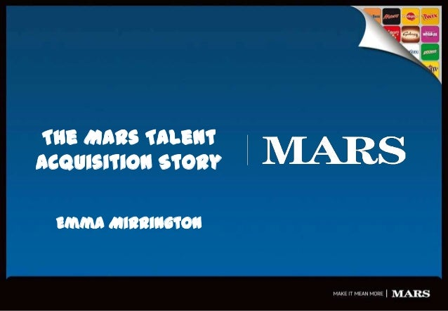 The Mars Talent Acquisition Story Emma Mirrington