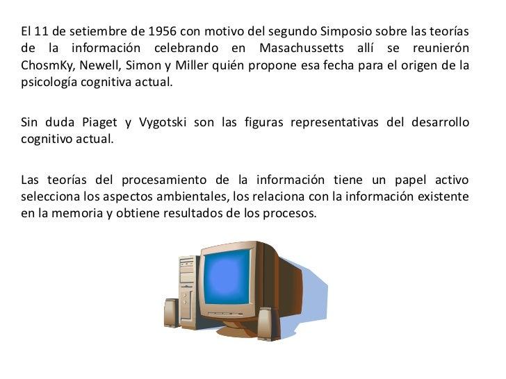 Procesamiento de la información Slide 3
