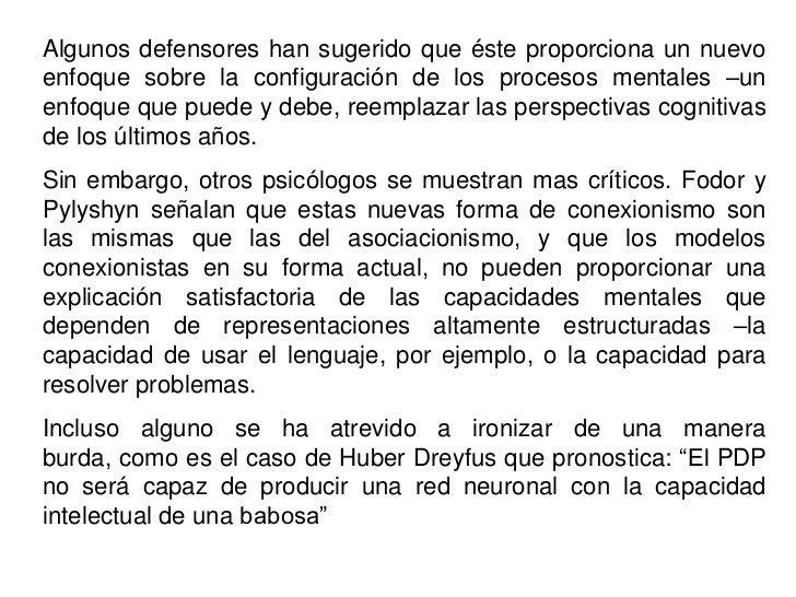 2.-  PROPIEDADES DE LAS REDES NEURONALES<br />(Adaptado de Rumelhart y McClelland, 1986)<br />Las neuronas muestran un pro...