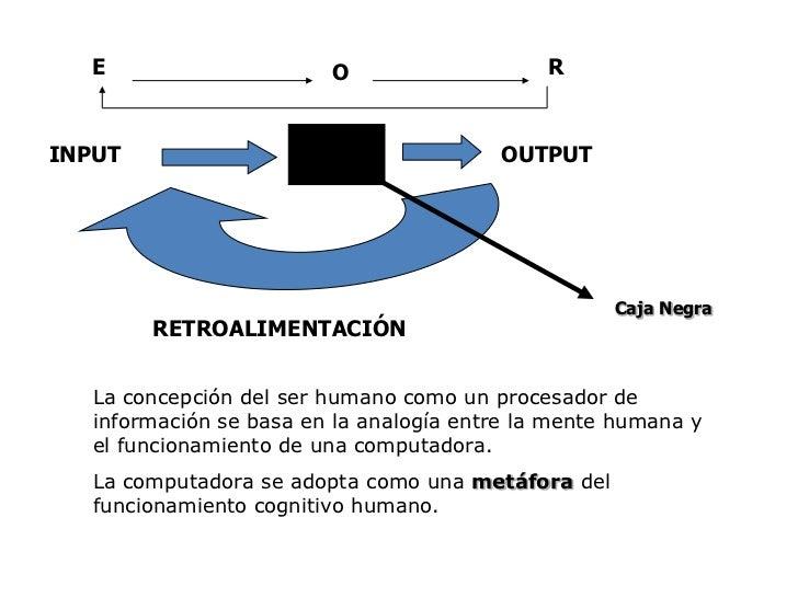 E<br />R<br />O<br />INPUT <br />OUTPUT<br />RETROALIMENTACIÓN<br />Caja Negra<br />La concepción del ser humano como un p...