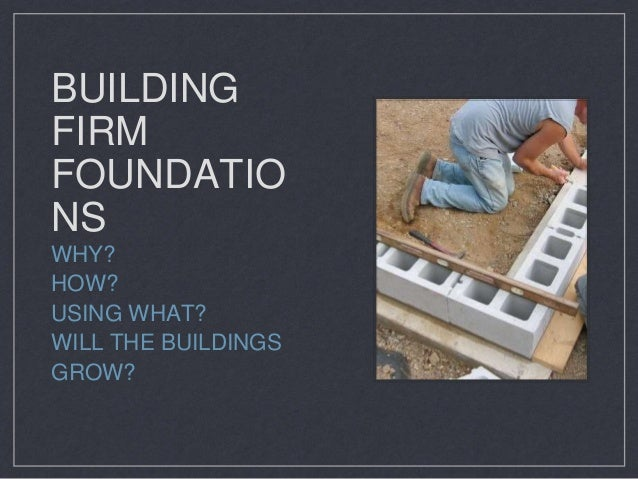 Firm foundations for strong buildings - the importance of Primary Language Learning. Slide 2