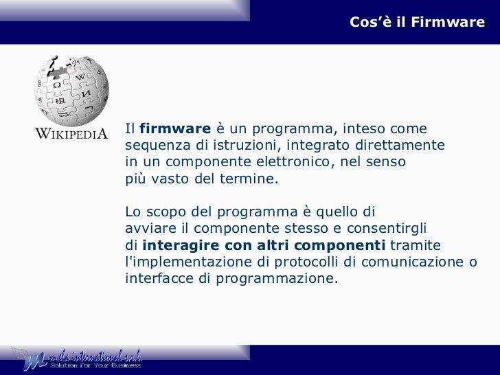 Safe check up - Firmware_aggiornamento - 22feb2012 Slide 3