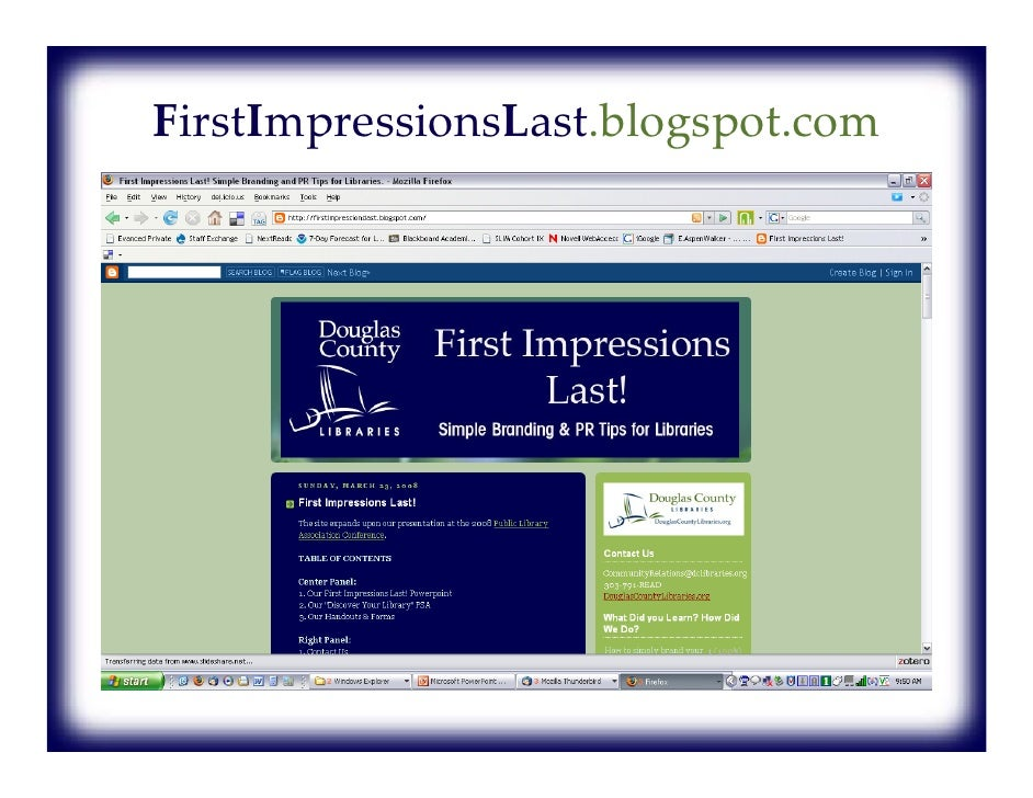 """""""First impression is the Last impression."""" Do you agree or disagree?"""
