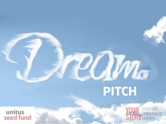 Template for First Investor Pitch The dream pitch an investor would like to see