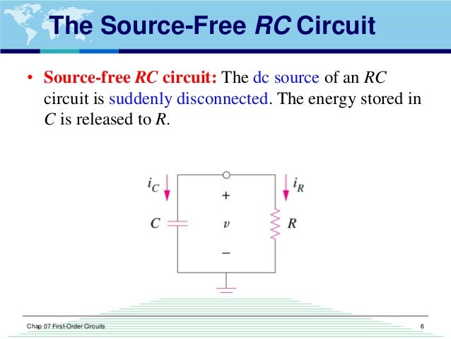 First order circuits