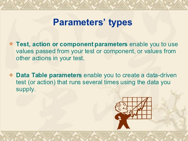 Types Of Parameters In Qtp