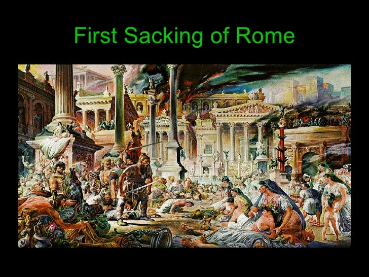 First Sacking of Rome